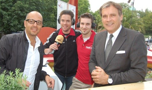 Oliver Peral, Stephan Hox, Freddy Schmitz und Steffen Müller (v.l.n.r.)