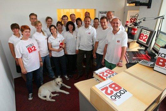 Das radioB2-Team