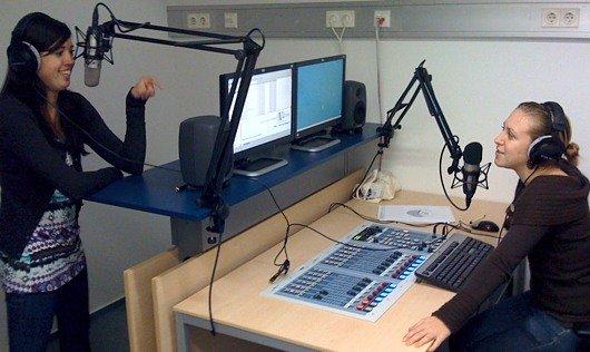 Das studiFM-Studio an der FH Wien