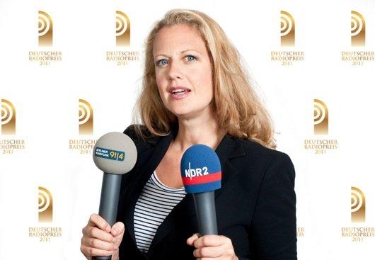 Barbara Schöneberger moderiert den Deutschen Radiopreis 2011