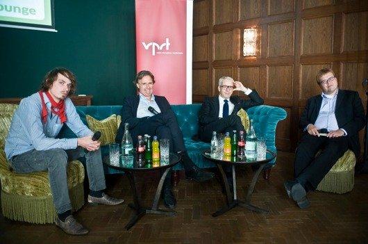 VPRT Radio Lounge Gesprächsrunde mit Steffen Grimberg