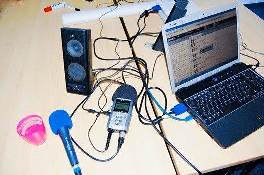 Jugendradiocamp 2011:  Technik