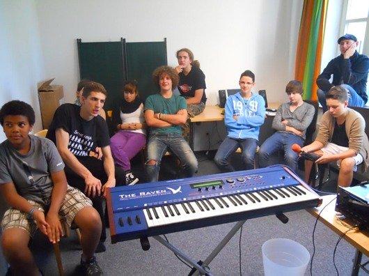 Jugendradiocamp 2011: Workshop Sound
