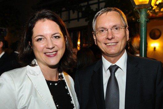 Dipl.Kffr. Corinna Drumm und GF VÖP Bundesminister Alois Stöger