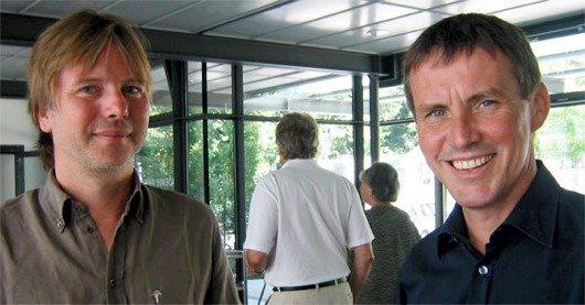 Auch Stefan Parrisius und Viktor Worms arbeiteten viele Jahre gemeinsam mit Mike Haas für Antenne Bayern.