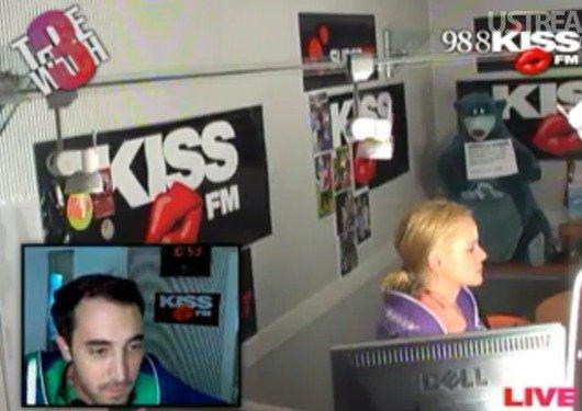Nora und Tolga ca. 7 Stunden vor dem Weltrekord von 98.8 KISS FM