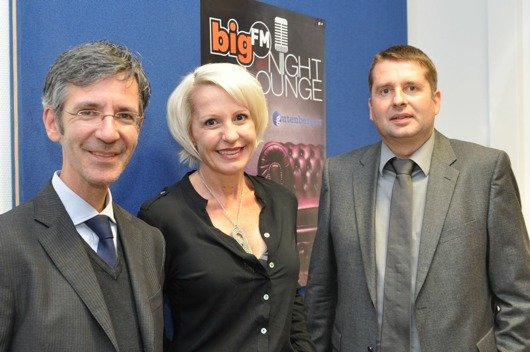 Kristian Kropp, Konstanze Jutzi, Guido Steffen (von links)