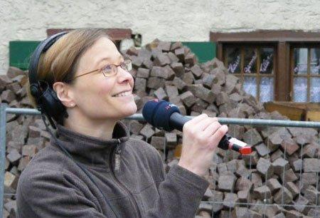 Sandra Müller - Radio ist ihre Leidenschaft. Foto: privat