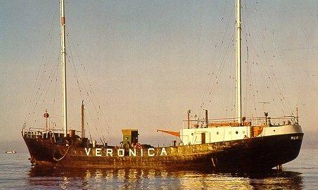 Sendeschiff von Radio Veronica (CBS Studio, Holland)