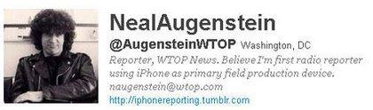 Wer in Verbindung bleiben möchte mit Neal Augenstein, folgt ihm am besten bei Twitter: @AugensteinWTOP