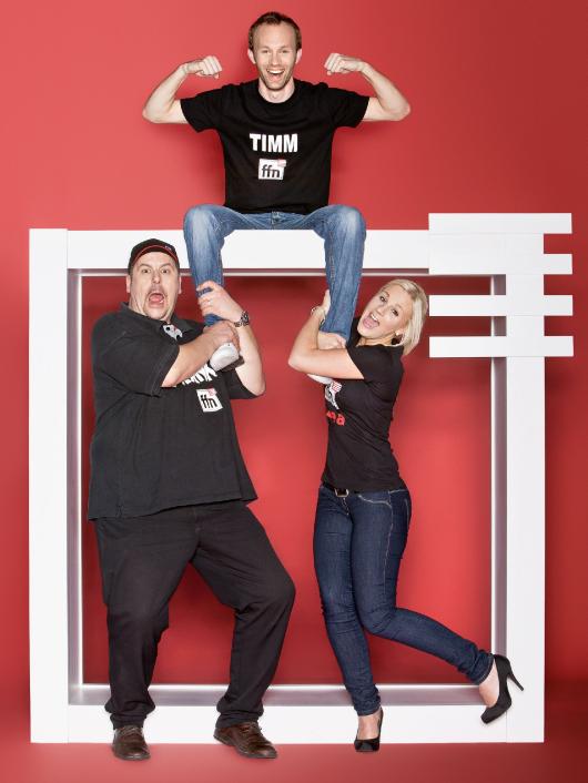 Franky, Timm und  Lea (Bild: ffn)