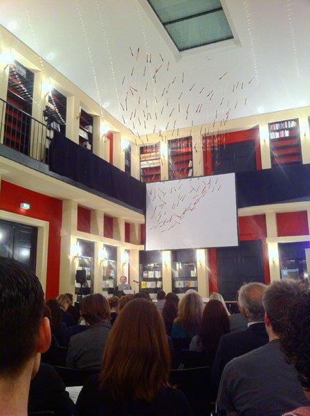 Lesesaal des Literaturhaus Frankfurt