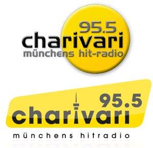 Das bisherige und das neue Logo von 95.5 Charivari im Vergleich