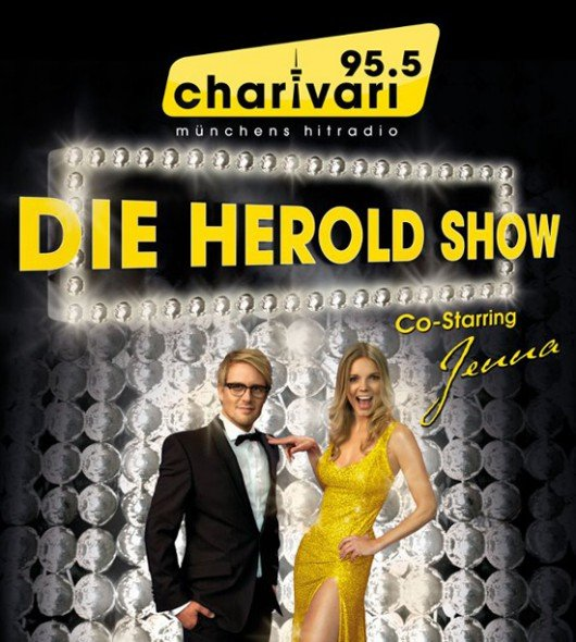 """Plakatmotiv """"Die Herold Show"""" (Bild: 95.5 Charivari / Manuel Jacob)"""