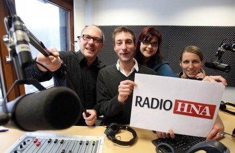Radio HNA Sendestart am 2. Januar 2012 (Bild: Radio HNA)