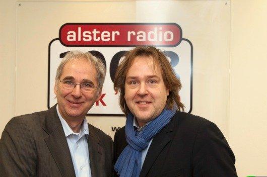 Jörg Reitmann und Uwe Schneider (Bild: alster radio)