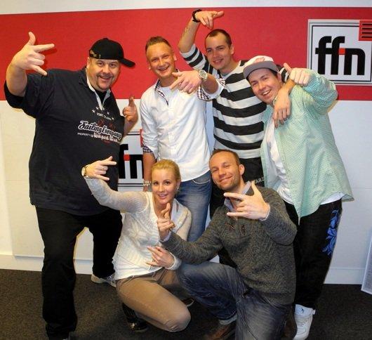 ffn Morgenmän Franky, Tino, Andre, Lea, Timm Doppel-M Busche