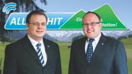 Allgäuhit-Gesellschafter Marcus Baumann und Thomas Häuslinger