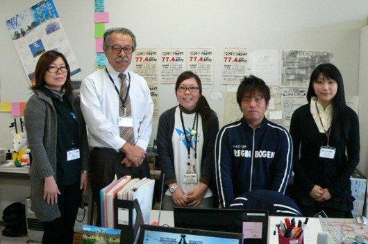 Radiomacher von Miyako Desaster FM erhalten Radio Regenbogen Ehrenaward 2011