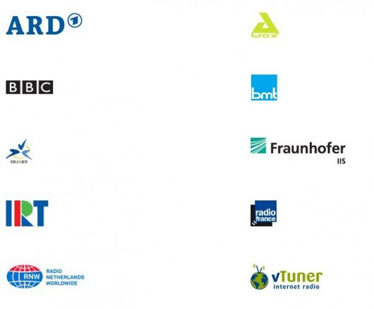 Vollmitglieder der Internet Media Device Alliance