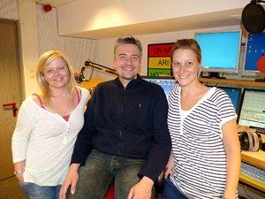 Jessica Kais, Steffen Pöhler und Sabrina Amon (Bild: Radio TON)