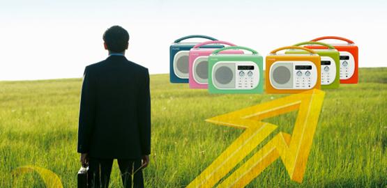 Digitalradio 2012 (Bild: gettyimages, istockphoto, pure)