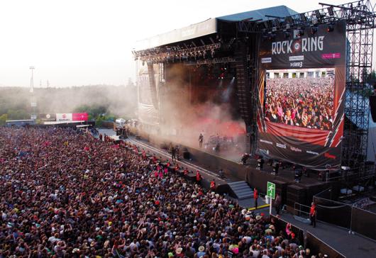 Rock am Ring - Rockfestival am Nürburgring in der Eifel Bühne (Bild: SWR)