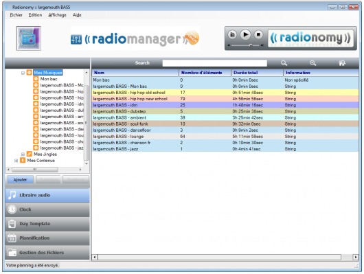 Radionomy Radiomanager