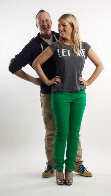 bigFM-Moderatoren Susanka und Hans
