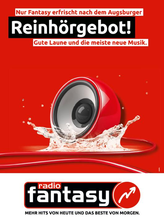 """Aktuelle Anzeige von Radio Fantasy: """"Reinhöergebot"""""""