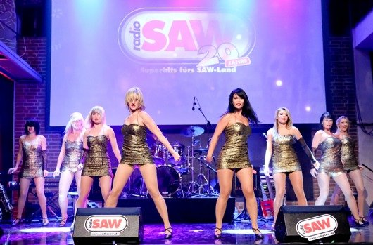 Die radio SAW-Dancer  (Bil: Andreas Lander)