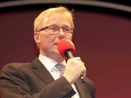 Tilmann Distelbarth, Verleger und Geschäftsführer der Heilbronner Stimme