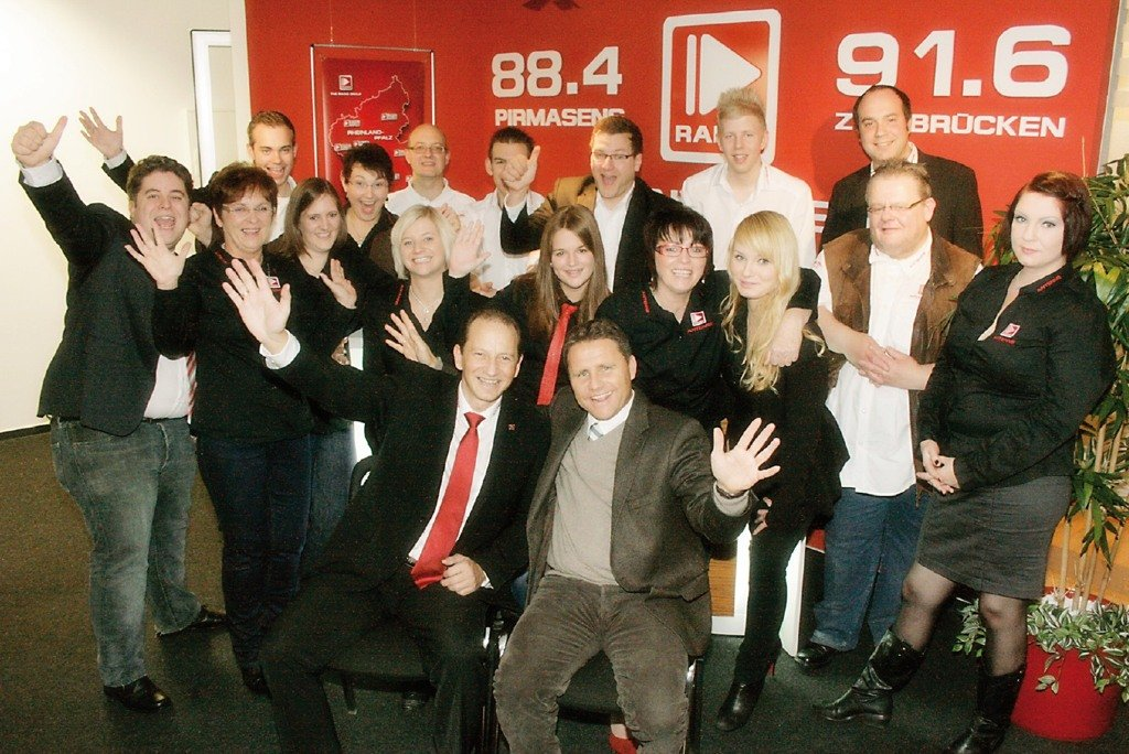 Das Antenne Team (Bild: Radiogroup)