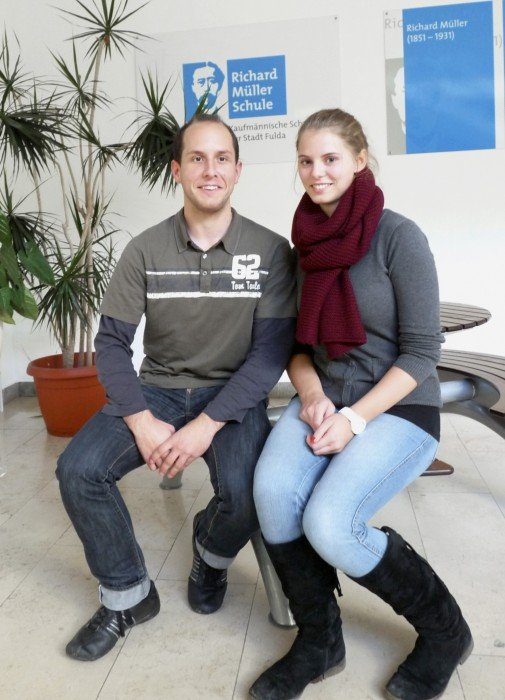 Sebastian Klingenberger und Lorena Schad