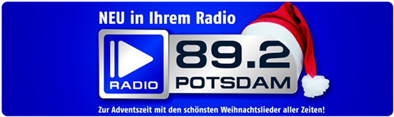 radio potsdam ist heute gestartet mit nonstop weihnachts. Black Bedroom Furniture Sets. Home Design Ideas