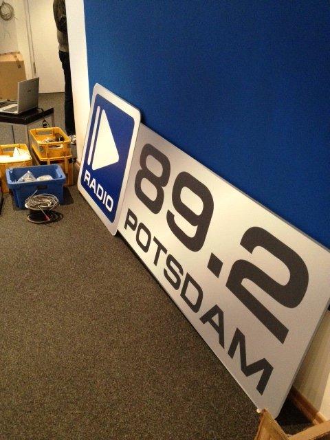 Das neue Radio Potsdam-Logo