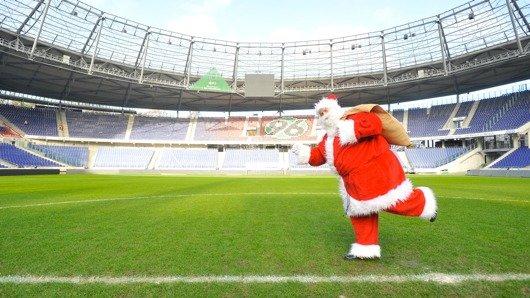 Morgenmän Franky als Weihnachtsmann (Bild: ffn)