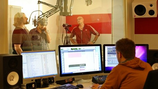 Söhne Mannheims im ffn-Studio (Bild: ffn)