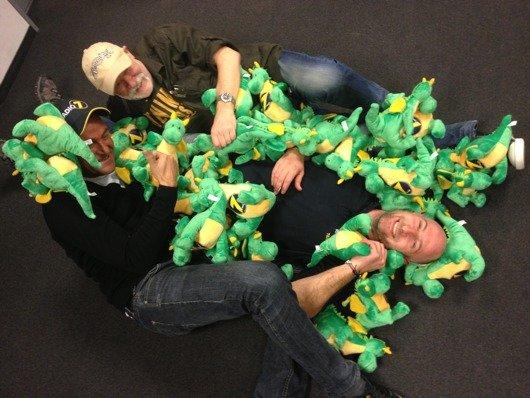 Andi Scheiter, Jack Krispin und Matze Ihring (Bild: Radio 7)