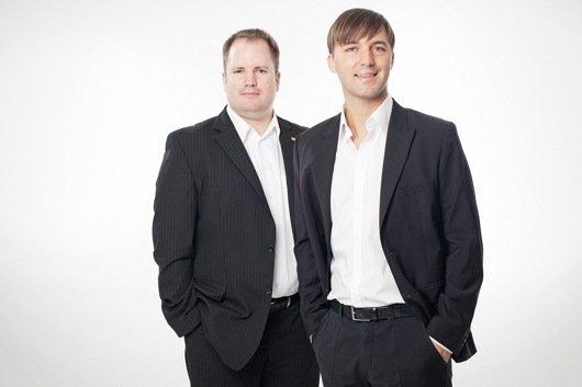 Programmchef Dirk Klee (links) und Geschäftsführer Mario Mally (rechts)