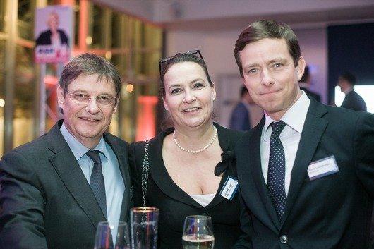 Friedrich A. Menze (Geschäftsführer mir.) – marketing im radio), Sandra Kretzer (Geschäftsführerin TOP Radiovermarktung), Boris Lochthofen (Geschäftsführer RADIO PSR)
