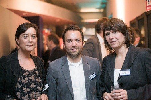 Tanja Hagen (RMS), Christian Schalt (rs2), Angela Lubitz (Geschäftsführerin delta radio)