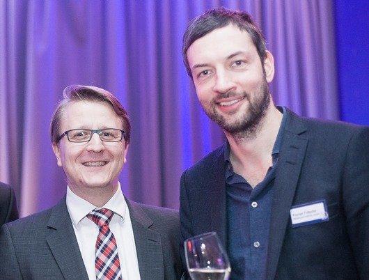 Markus Adomeit (Geschäftsführer FGM ForschungsGruppe Medien), Florian Fritsche (Geschäftsführer REGIOCAST DIGITAL) / 90elf)