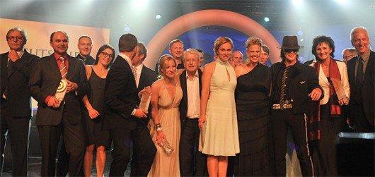 Deutscher Radiopreis: Gruppenbild PreisträgerInnen 2012 | Copyright: zVg / Deutscher Radiopreis
