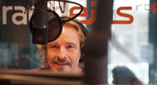 Thomas Gottschalk zurück im Radiostudio (Bild: ©rbb, Ralf Schuster)