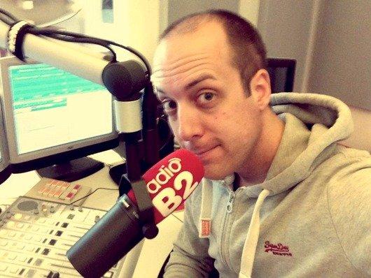 Michael Weiser bei radioB2 (Bild: facebook)