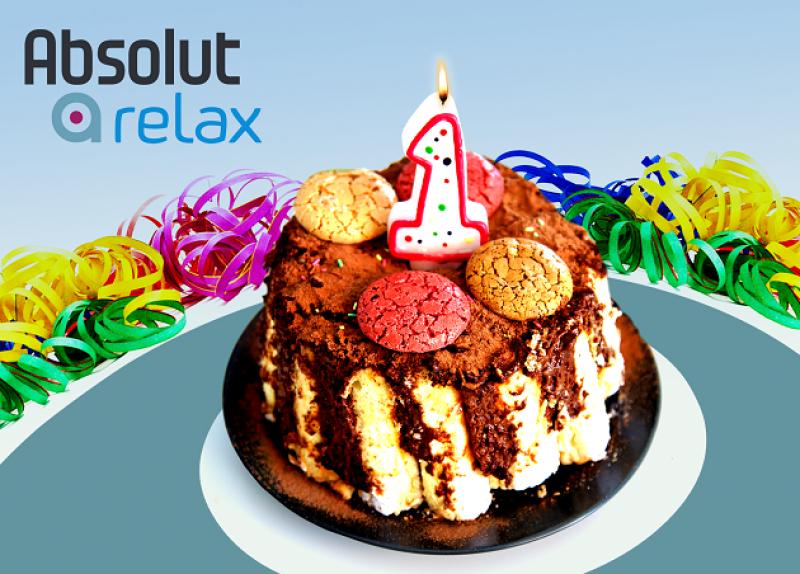 Absolut relax feiert Geburtstag