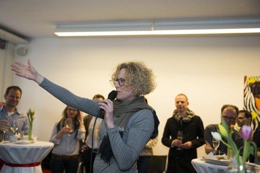 Geschäftsführerin und Chefredakteurin Radio 24 Karin Müller.