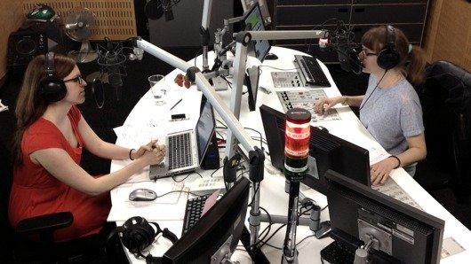Blick ins Virus-Studio (Bild: SRF)