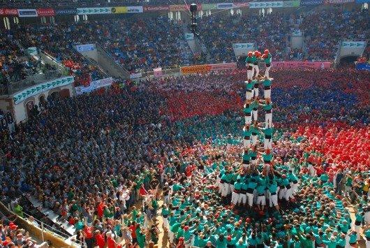 Wolkenkratzer Festival 2013-Menschentürme (Bild: FFH)